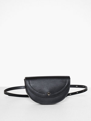 kate spade new york svart axelväska Andi Small Half Moon Belt Bag