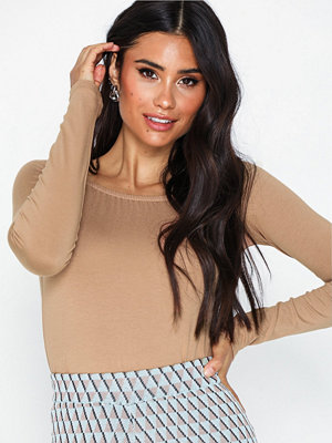 NLY Trend Long Sleeve Shoulder Top