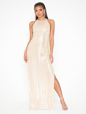 NLY Eve Sequin Slit Gown