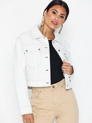 Skinnjackor - Topshop Western PU Jacket