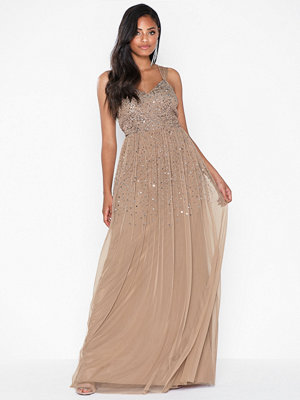 Maya Scatter Sequin Maxi Dress