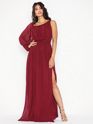NLY Eve One Shoulder Flowy Gown