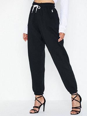 Polo Ralph Lauren svarta byxor Po Sweatpant-Ankle-Pant
