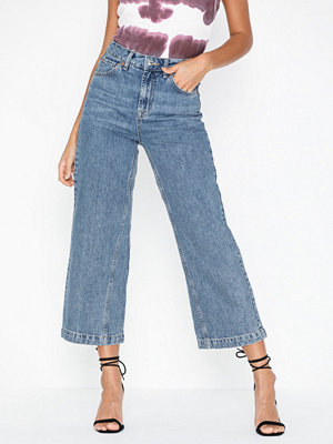 Jeans - Topshop Dirty Crop Wide Leg Jeans