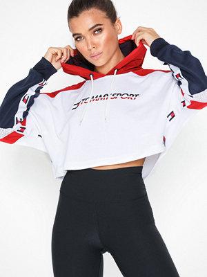 Sportkläder - Tommy Sport Flag Tape Crop Hoody