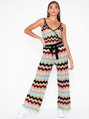 River Island Reeves Chevron Jumpsuit