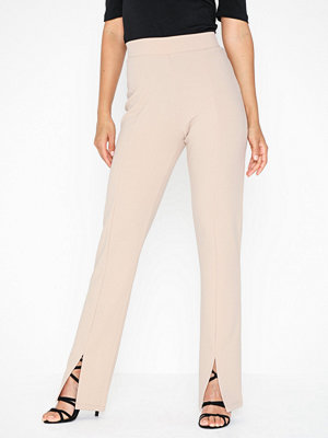 NLY Trend omönstrade byxor Front Slit Pants