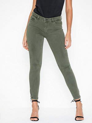 Noisy May Nmkimmy Nw Ank Zip Clr Jeans CS068