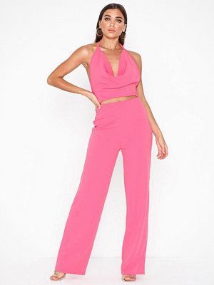 Jumpsuits & playsuits - NLY One Waterfall Open Back Jumpsuit