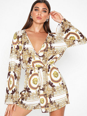 NLY One Flowy Print Playsuit
