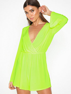 Jumpsuits & playsuits - NLY One Flowy Sleeve Playsuit