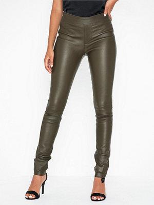 Helmut Lang Leather Legging.str1