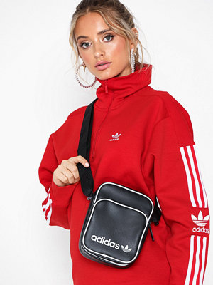 Adidas Originals svart axelväska Mini Bag Vint