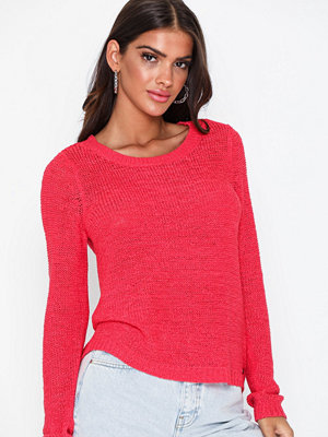 Only onlGEENA Xo L/S Pullover Knt Noos Geranium