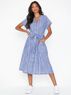 Vero Moda Vmlynn S/S Tie Button Dress Vip