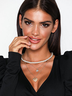 NLY Accessories halsband Vintage Layered Necklaces