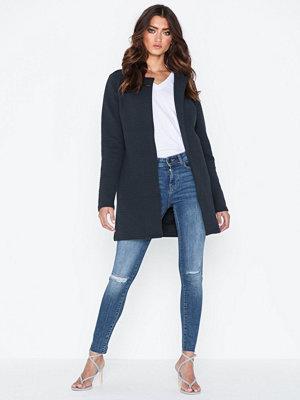 Vila Vinaja New Long Jacket-Noos Blå