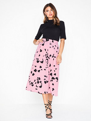 Selected Femme Slfloretta Mw Midi Skirt B
