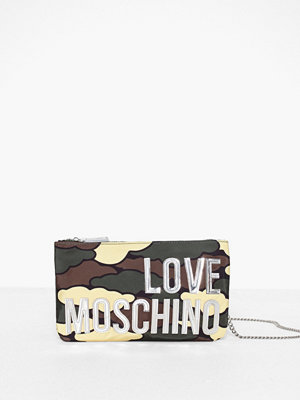 Love Moschino axelväska med tryck JC4128PP18LX2