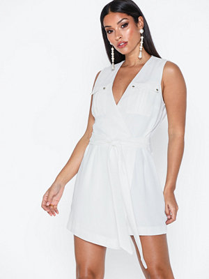 River Island SL Ralfie Wrap Playsuit