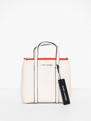 The Marc Jacobs vit axelväska The Tag Tote 21