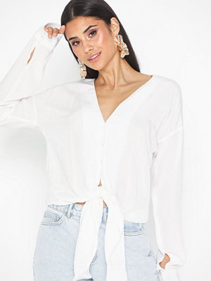 NLY Trend Front Tie Blouse