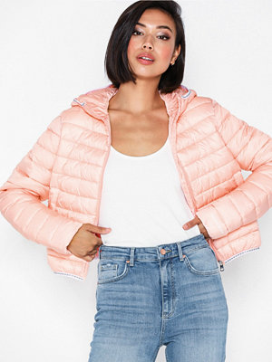 Calvin Klein Jeans Padded Puffer with Logo Binding Rosa