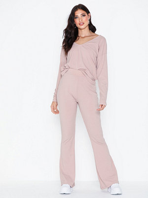 Jumpsuits & playsuits - NLY Trend Rib Shoulder Set