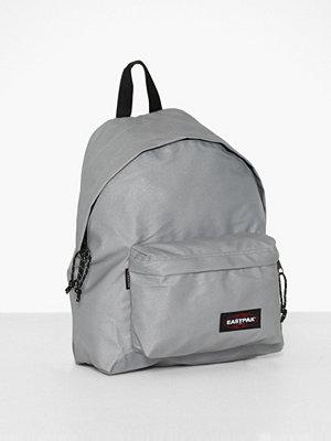 Eastpak ljusgrå ryggsäck Padded Pak'R Silver
