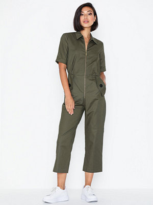 Closet Short Sleeve Boiler Suit