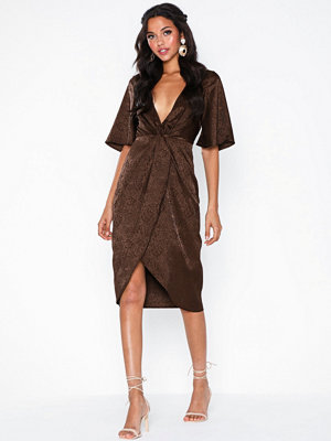 NLY Eve Twisted Jacquard Dress