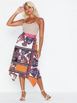 Only Onlcarlene Asymmetric Midi Skirt Wv