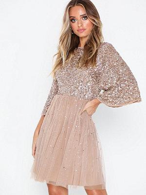 Maya Flutter Sleeve Mini Dress