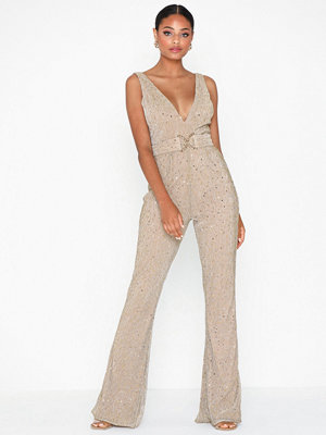 Jumpsuits & playsuits - Rare London Metallic Jumpsuit