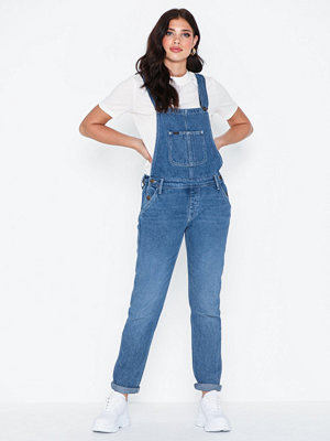 Lee Jeans Relaxed Worker Bib Light Stone