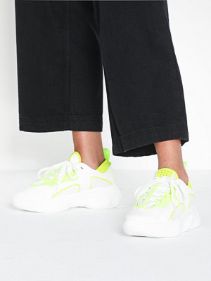 Sneakers & streetskor - Missguided PU Panel Chunky Trainer