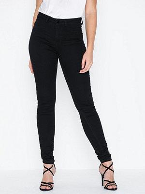 Jeans - Jacqueline de Yong Jdynikki Jegging High Black Dnm Noo
