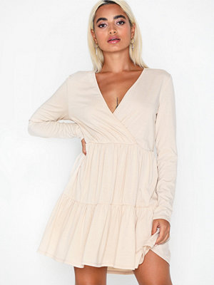 NLY Trend Wrap Frill Front Dress