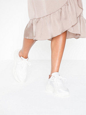 Missguided Satin Panel Chunky Trainer
