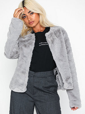 Only Onllaura Faux Fur Jacket Cc Otw