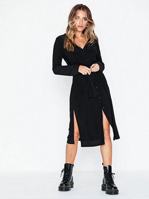 NLY Trend Tie Slit Shirt Dress