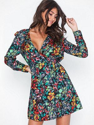 Only Onlreign L/S Short Dress Wvn