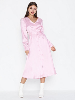 Glamorous Belted Long Sleeve Dress