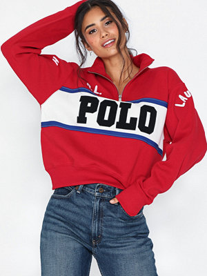 Polo Ralph Lauren Polo Hlf Zip-Long Sleeve-Knit