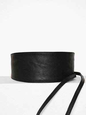 Bälten & skärp - Pieces Pcvibs Leather Tie Waist Belt Noos