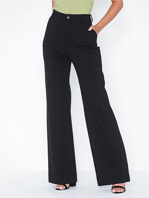 Filippa K svarta byxor Ivy Jersey Trouser