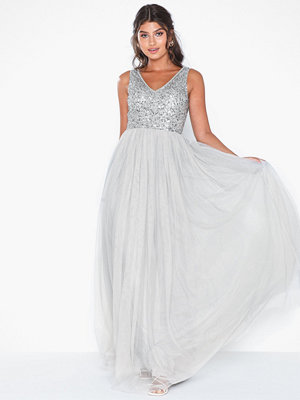Maya Sequin Bodice Maxi Dress