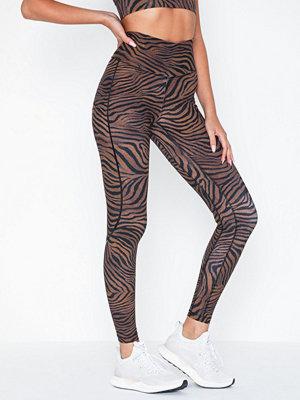 Sportkläder - Casall Sculpture Heritage Tiger Tights