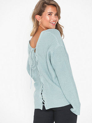NLY Trend V-back Lace Up Knit
