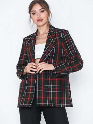 Only Onlquinn Next Check Blazer Pnt